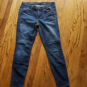 """J.Crew Toothpick Jeans 8"""""""